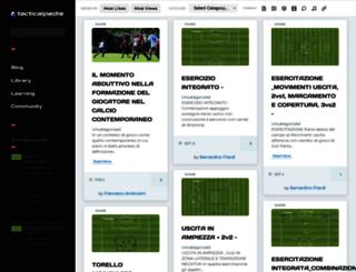 tacticalpedia.com screenshot