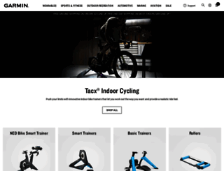 tacx.com screenshot