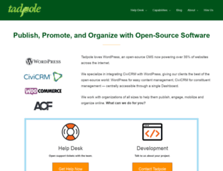 tadpole.cc screenshot