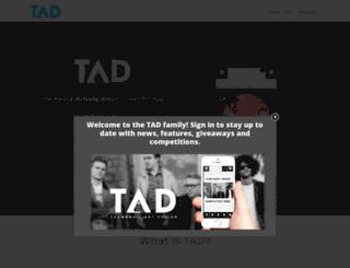 tadtheapp.com screenshot