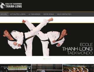 taekwondo-neuville.com screenshot