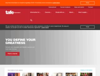 tafegoldcoast.edu.au screenshot