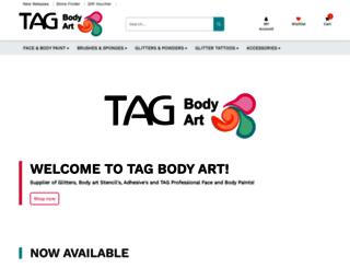 tagbodyart.com screenshot