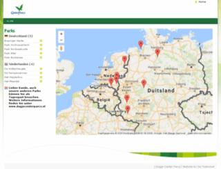 tagesausflugcenterparcs.de screenshot