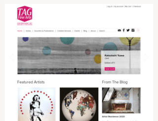 tagfinearts.com screenshot