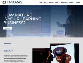 tagoras.com screenshot