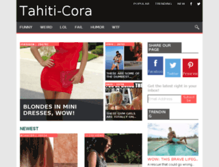 tahiti-cora.com screenshot