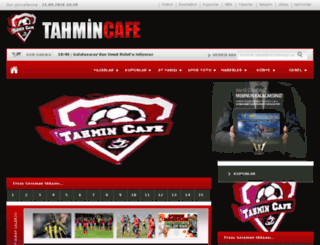 tahmincafe.com screenshot
