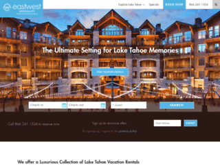 tahoemountainlodging.com screenshot