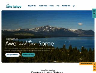 tahoesouth.com screenshot
