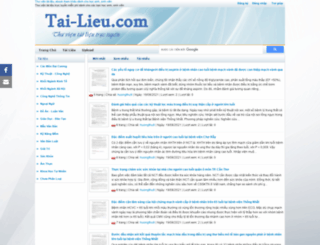 tai-lieu.com screenshot