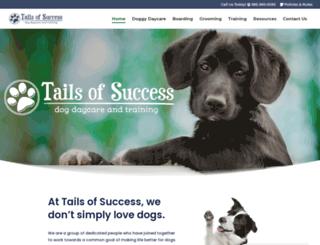 tailsofsuccessny.com screenshot