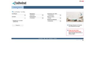 tailwind.air41.de screenshot