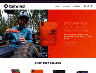 tailwindnutrition.com screenshot