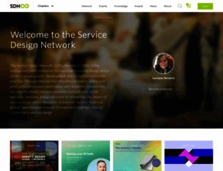 taiwan.service-design-network.org screenshot