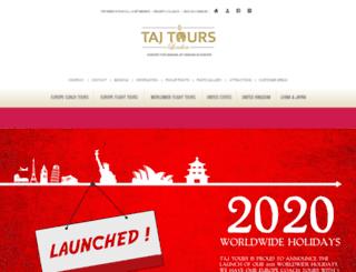 tajtoursuk.com screenshot