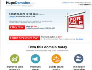 takafm.com screenshot