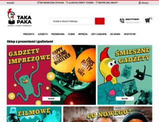 takapaka.pl screenshot