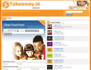 takeaway.ie screenshot