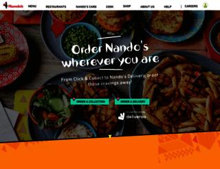 takeaway.nandos.co.uk screenshot