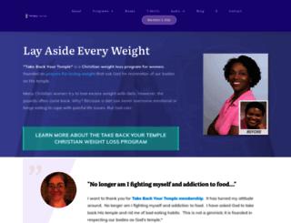 takebackyourtemple.com screenshot