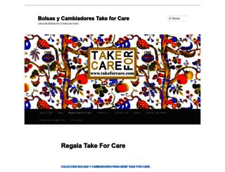 takeforcare.wordpress.com screenshot