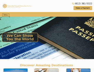 takemetravelconsultants.com screenshot