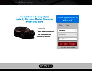 takeoverpayment.com screenshot