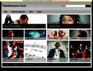 takethecare.com screenshot