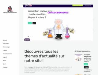 takingactiononline.com screenshot