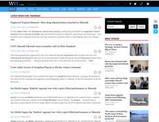 takoradi.com screenshot