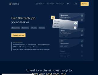 talentclub.io screenshot