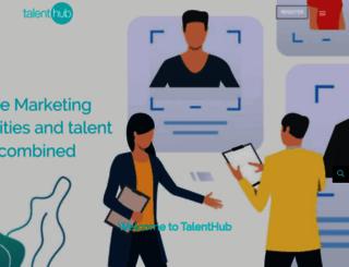 talenthubresourcing.com screenshot