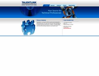 talentlink.com screenshot