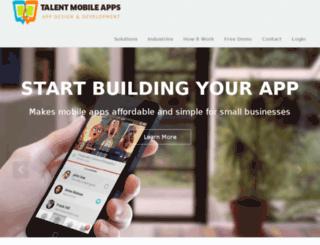 talentmobileapps.com screenshot