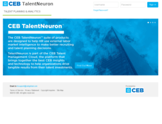 talentneuron.cebglobal.com screenshot