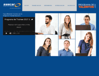 talentosascar.com.br screenshot