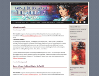 talesofthebigbadwolf.com screenshot
