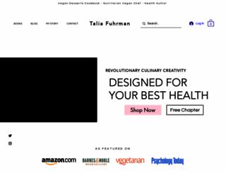 taliafuhrman.com screenshot