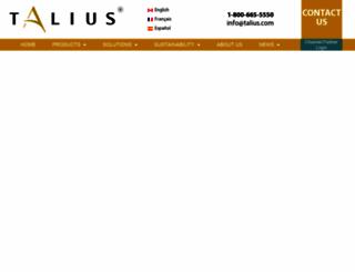 talius.com screenshot
