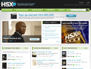 talk.hsx.com screenshot