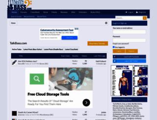 talkbass.com screenshot