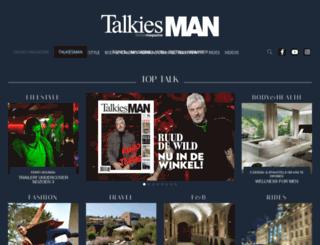 talkiesman.nl screenshot