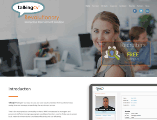 talkingcv.com screenshot