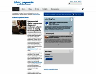talkingpayments.com screenshot