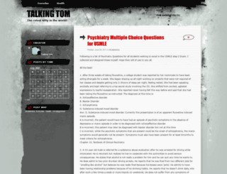 talkingtomcat.wordpress.com screenshot