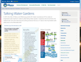 talkingwatergardens.com screenshot