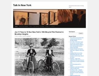 talkinnewyork.com screenshot