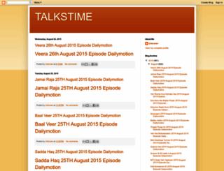 talkstime787.blogspot.com screenshot