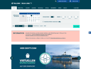 tallinksilja.de screenshot